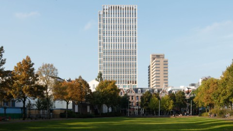 First Rotterdam building from a distance